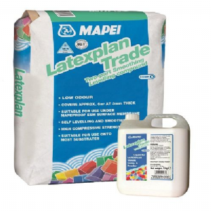 Mapei Latexplan Trade 25kg Powder & Mapei Latexplan Trade 5kg Liquid